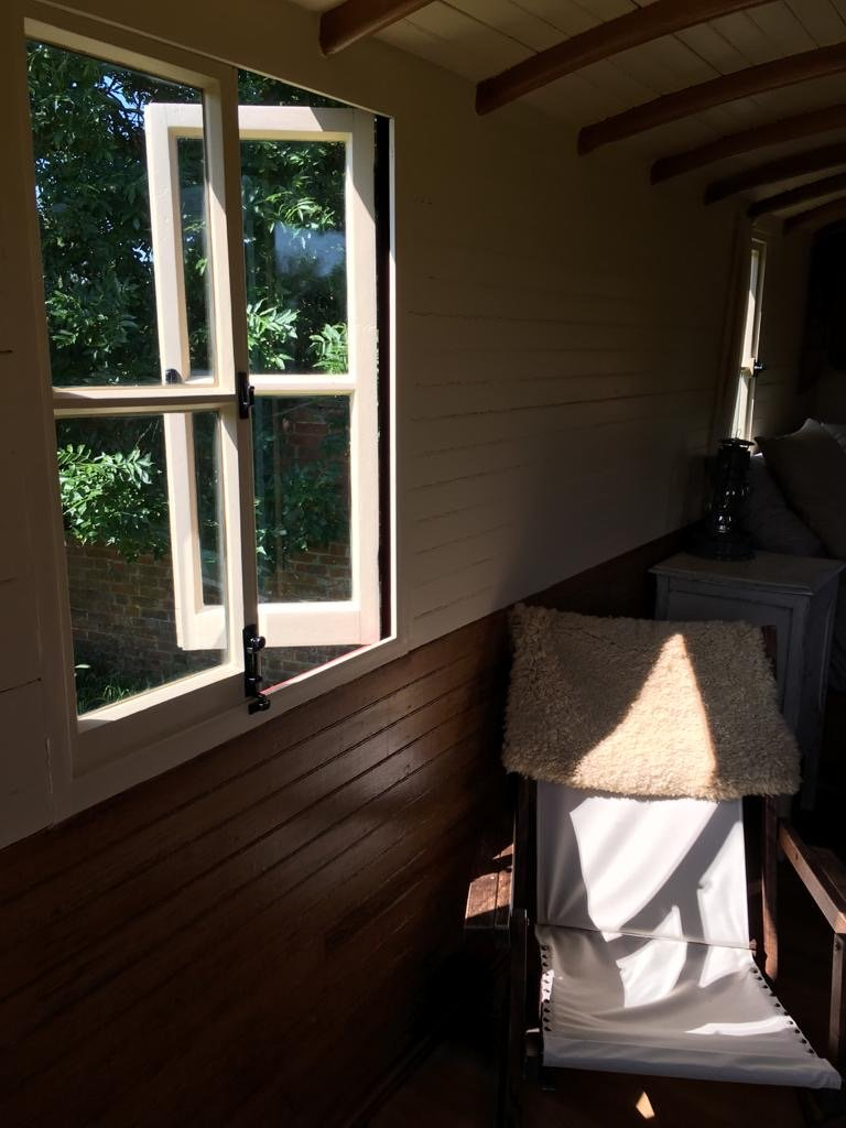 Shepherd's Hut Window
